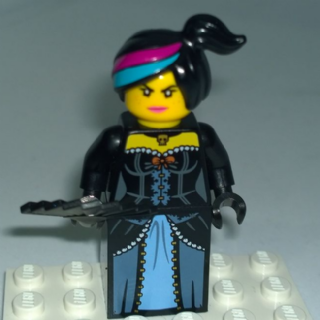 Lego Movie Wild West Wyldstyle Minifigure